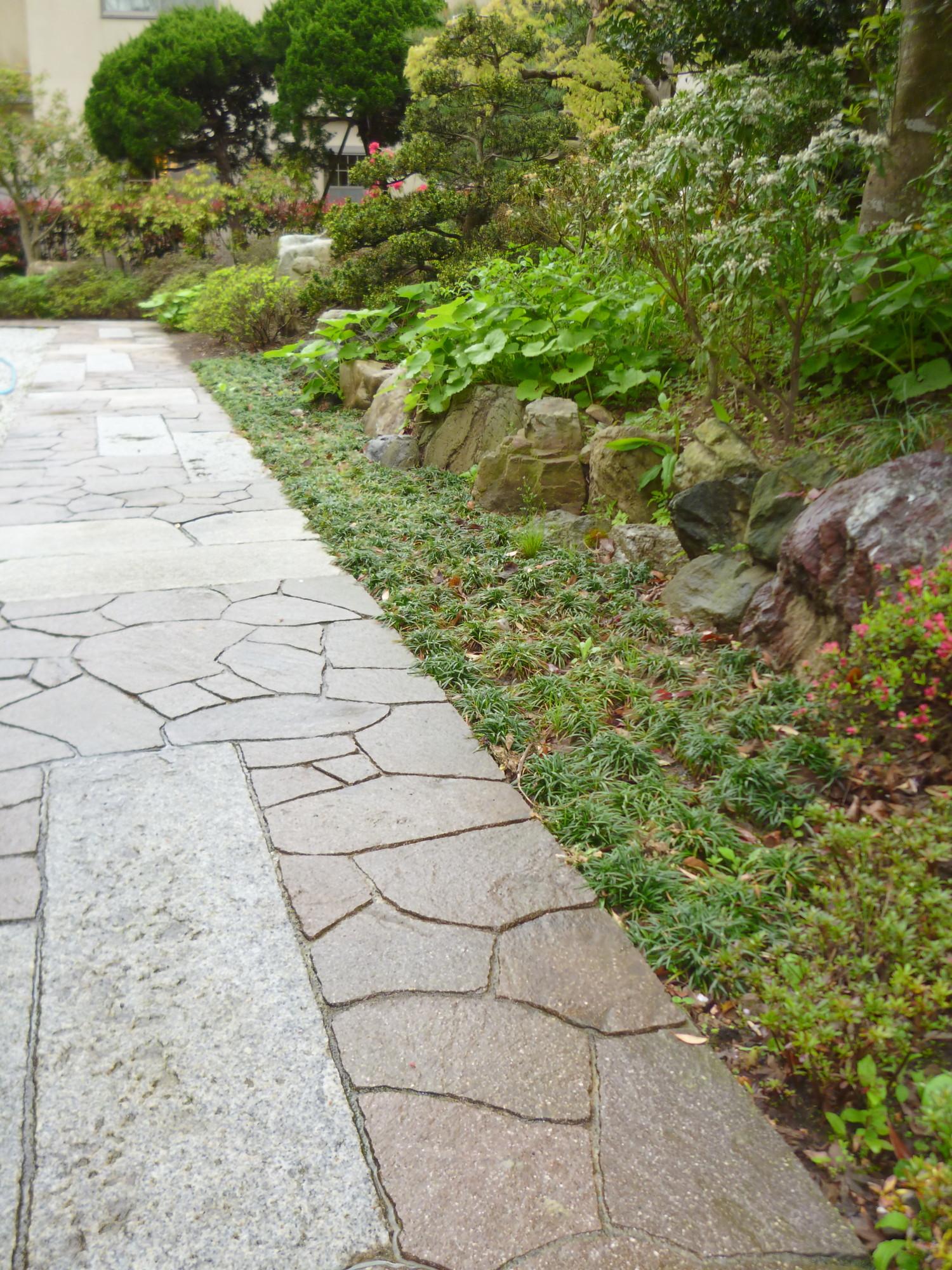 鎌倉市のモダン和風庭園工事例