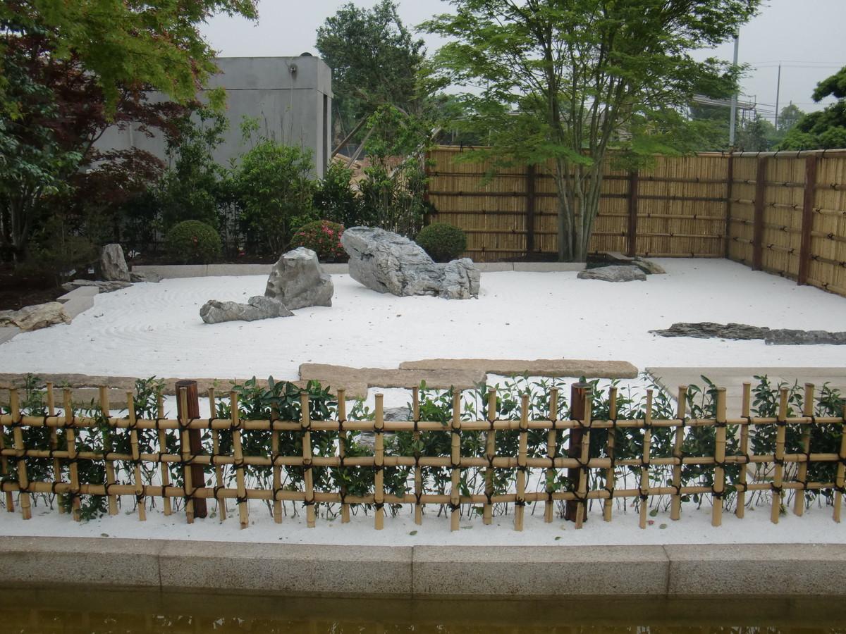 上海庭園工事