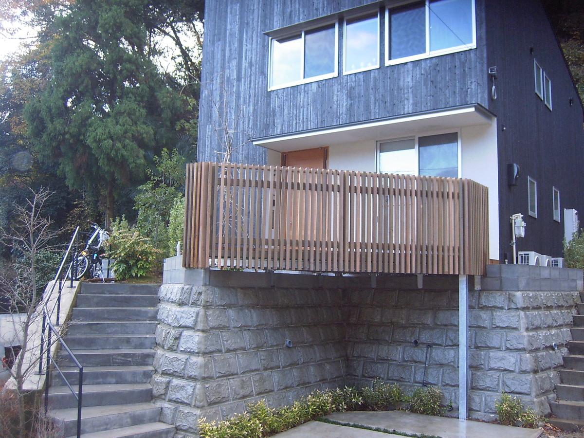 鎌倉市のウッドデッキ施工事例