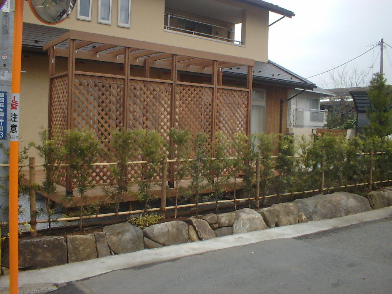 藤沢市のエクステリア工事