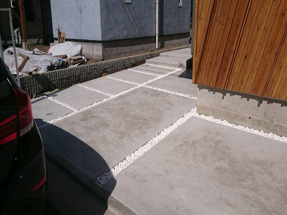 コンクリート仕上がり2