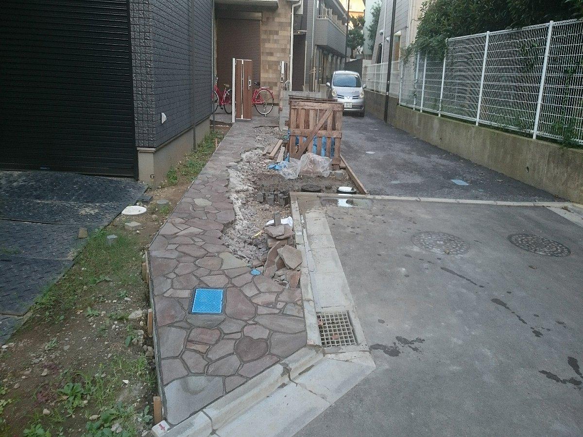 鎌倉市の外構工事(駐車場)