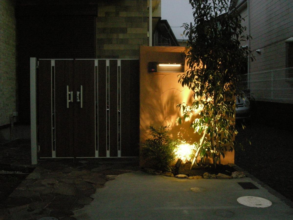 鎌倉市外構工事(玄関)
