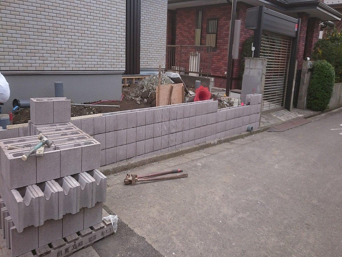 型枠化粧ブロック