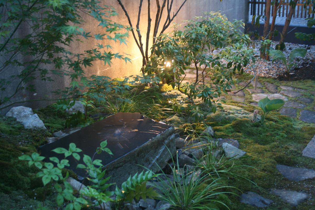 雑木の庭とエクステリア工事