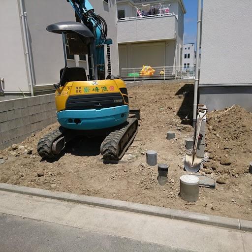横須賀市のナチュラル新築工事+ウッドデッキ工事